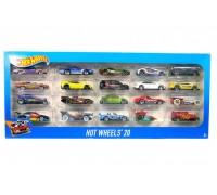 Набор машинок игрушечных Hot Wheels 20 штук