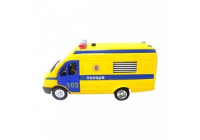 Автомодель - Газель полиция (CT-1276-17PU)