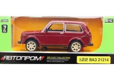 Машинка Автопром Нива 21214 3 вида