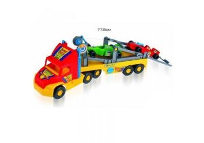 Машина Грузовик Super Truck с авто Формула Wader 36620