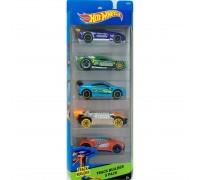 Набор машинок игрушечных Hot Wheels 5 штук