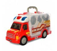 Машинка пожарная с инструментами - 661-175