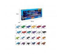 Набор машинок игрушечных Hot Wheel 20 штук 8637