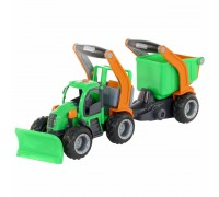 Трактор снегоуборочный ГрипТрак Polesie с ковшом 48400