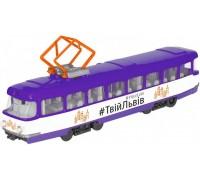 Модель городской трамвай Львов Технопарк SB-16-66WB-UL