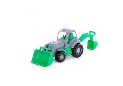 Трактор-экскаватор Силач Polesie 45065