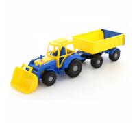 Трактор Алтай с прицепом и ковшом Polesie 35349