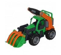 Трактор погрузчик ГрипТрак Polesie с ковшом 48387