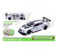 Машина металлическая Автопром Bentley Continental GT3 68266 А