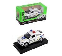 Машина металлическая Полиция Автопром BMW X6 7844-1