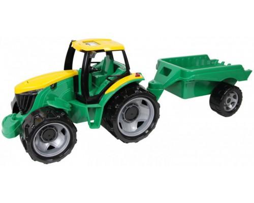 Трактор с прицепом Lena 02122 91 см