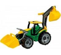 Трактор Lena с экскаватором и лопатой Lena 02080 63 см