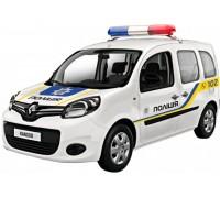 Автомодель Технопарк Renault Kangoo Полиция 1:32 KANGOO-BK