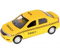 Автомодель Технопарк Renault Logan Taxi 1:32 LOGAN-T