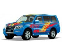 Автомодель Технопарк Mitsubishi Pajero Sport Синий SB-17-61-MP-S-WB