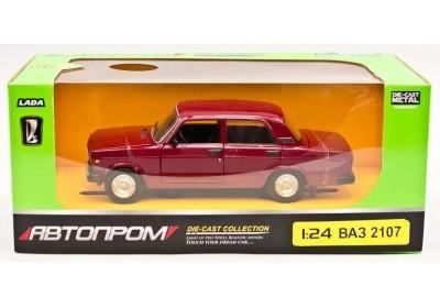 Машина металлическая ВАЗ 2107 Автопром