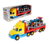 Автомобиль Wader Super Truck с легковыми авто 36630