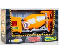 Мусоровоз Wader Middle Truck City 39312