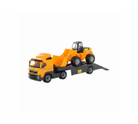 Автомобиль-трейлер Volvo + трактор-погрузчик Polesie 36803