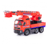 Автомобиль Polesie Volvo пожарный 77301