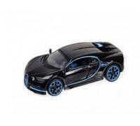 Машина металлическая Bugatti Chiron Автопром, свет, звук, открываются двери, 7866