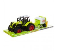 Трактор инерционный с прицепом 666-130C 51 см