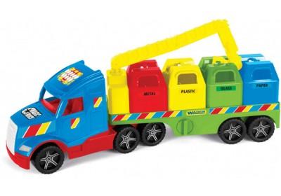 Мусоровоз Wader Magic Truck Basic 36320