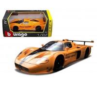 Автомодель Bburago MASERATI MC12 оранжевый 18-21078