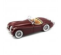 Автомодель Bburago Jaguar XK 120 1951 1:24