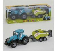 Трактор инерционный с прицепом 0488-304CQ