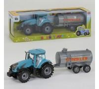 Трактор инерционный с прицепом 0488-315CQ
