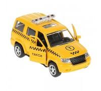 Модель транспорта такси желтое 6403B