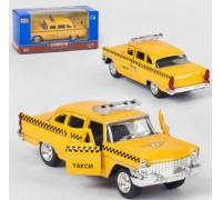 Модель транспорта такси желтое 6410F
