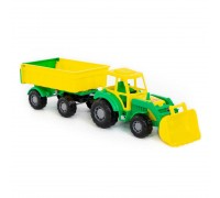 Трактор Мастер с прицепом и ковшом Polesie 35264