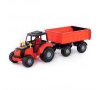 Трактор с прицепом Polesie 35257