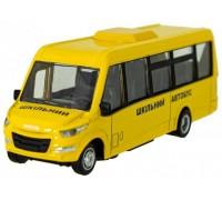 Автомодель Technopark школьный автобус Daily-15chi-ye