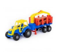 Трактор с полуприцепом-лесовозом Мастер Polesie 35295