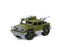 Автомобиль-пикап военный Защитник с 2-мя пулемётами Полесье 63946