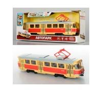 Трамвай инерционный 9708