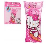 Матрас детский надувной Hello Kitty Intex 58718