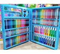 Набор для рисования 07429 голубой 168 предметов