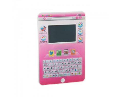 Детский обучающий планшет 7396 русско-английский