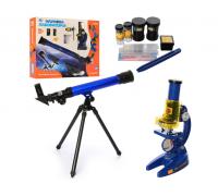 Детский набор телескоп и микроскоп SK0014