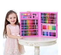 Набор для рисования 07429 розовый 168 предметов