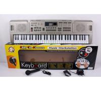 Детский пианино синтезатор MQ 816