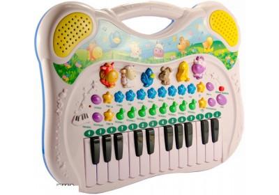 Пианино синтезатор Genio Kids Поющие друзья PK39FY