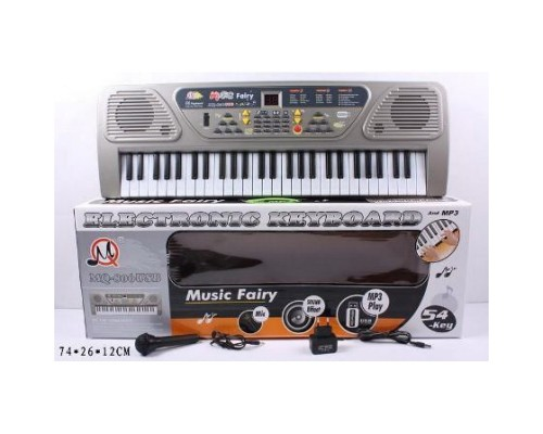Детский пианино синтезатор MQ 806 USB