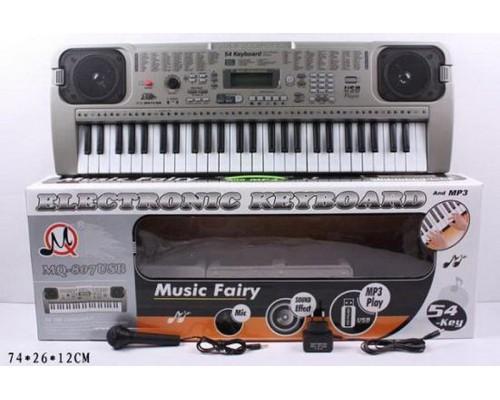 Детский пианино синтезатор MQ 807 USB