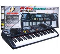 Детский пианино синтезатор MQ 860 USB