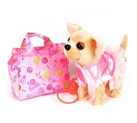 Собачка музыкальная ходит в сумочке